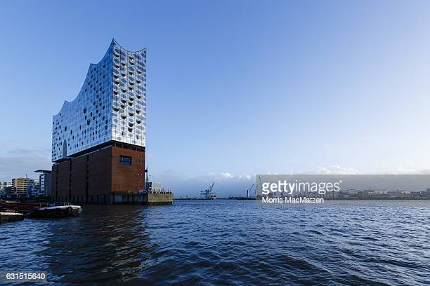 The Elbphilharmonie concert hall is pictured before the opening on January 11 2017 in Hamburg Germany Tonights opening gala comes around nine and a...