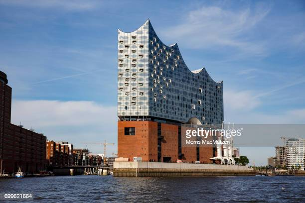 The Elbphilharmonie concert hall stands on June 21 2017 in Hamburg Germany Hamburg will host the upcoming G20 summit from July 78 with venues to...