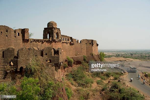 The elegant structure of the Bidar fort built in the 15th century when Bidar came into prominence with the sultanate regime Bidar Karnataka India