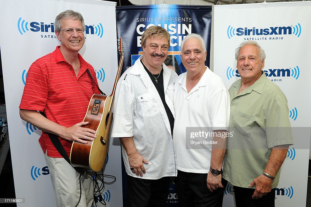 The Elegants attend the Cousin Brucie's First Annual Palisades Park Reunion presented by SiriusXM on June 22, 2013 in East Rutherford, New Jersey.