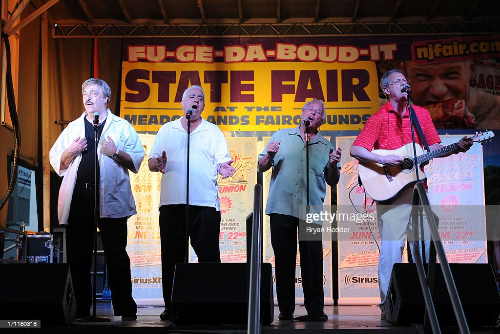 The Elegants perform at the Cousin Brucie's First Annual Palisades Park Reunion presented by SiriusXM on June 22, 2013 in East Rutherford, New Jersey.