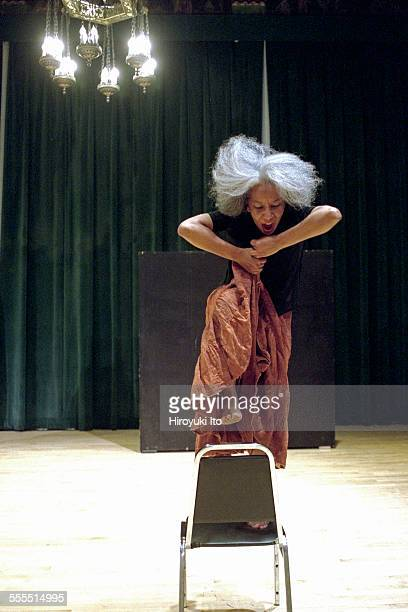 The Eleo Pomare Dance Company performed 'Aridez' at the 92nd Street Y Harkness Dance Center on October 20 2002This imageKathy M Thomas