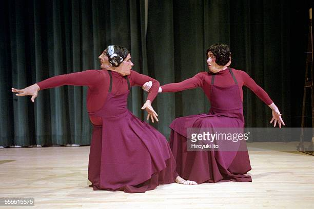 The Eleo Pomare Dance Company performed 'Aridez' at the 92nd Street Y Harkness Dance Center on October 20 2002This imageMartial Roumain and Tyrone...
