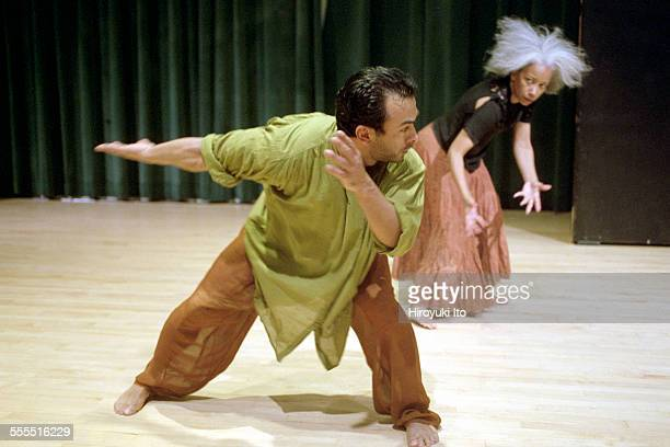 The Eleo Pomare Dance Company performed 'Aridez' at the 92nd Street Y Harkness Dance Center on October 20 2002This imageFrom left Manolo Medina and...
