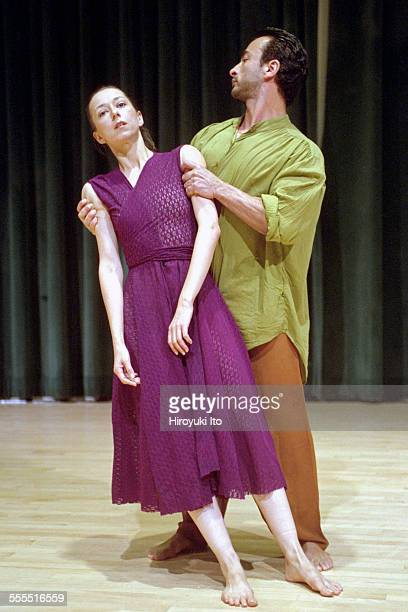 The Eleo Pomare Dance Company performed 'Aridez' at the 92nd Street Y Harkness Dance Center on October 20 2002This imageColumbine Macher left and...