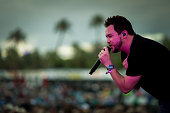 The Eli Young Band performs onstage during day two of 2015 Stagecoach California's Country Music Festival at The Empire Polo Club on April 25 2015 in...