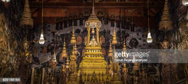 The Emerald Buddha in Thailand Grand Palace 'Wat Phra Kaew'