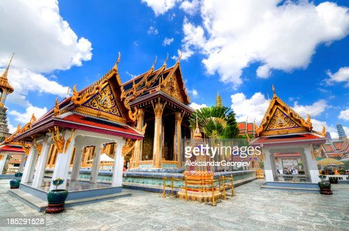The Emerald Buddha Temple in Grand Palace