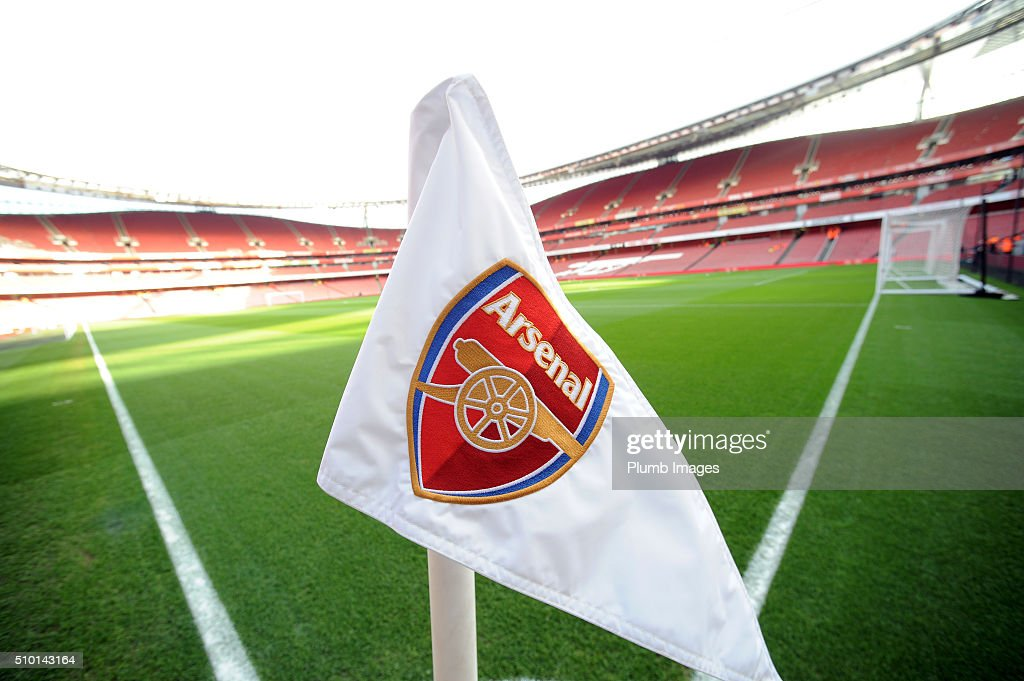 The Emirates Stadium ahead of the Barclays Premier League match between Arsenal and Leicester City at Emirates Stadium on February 14, 2016 in London, United Kingdom.