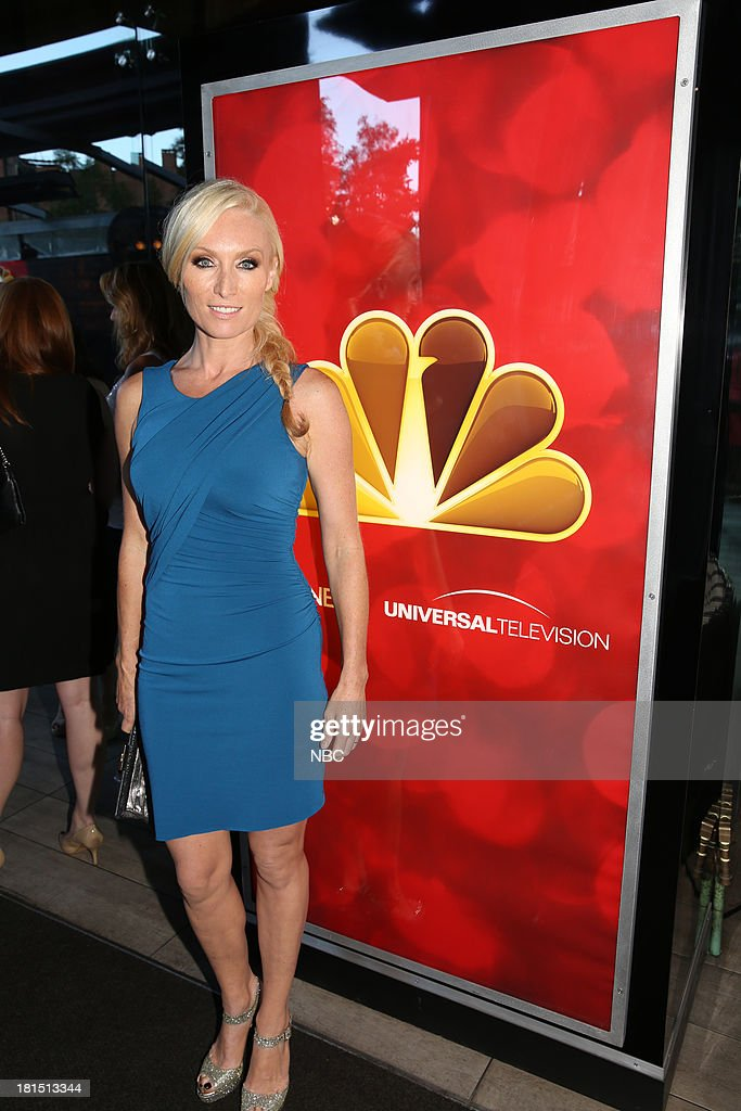 EVENTS -- 'The Emmy Party' -- Pictured: Victoria Smurfit from Dracula at Boa Steakhouse, September 21, 2013 --