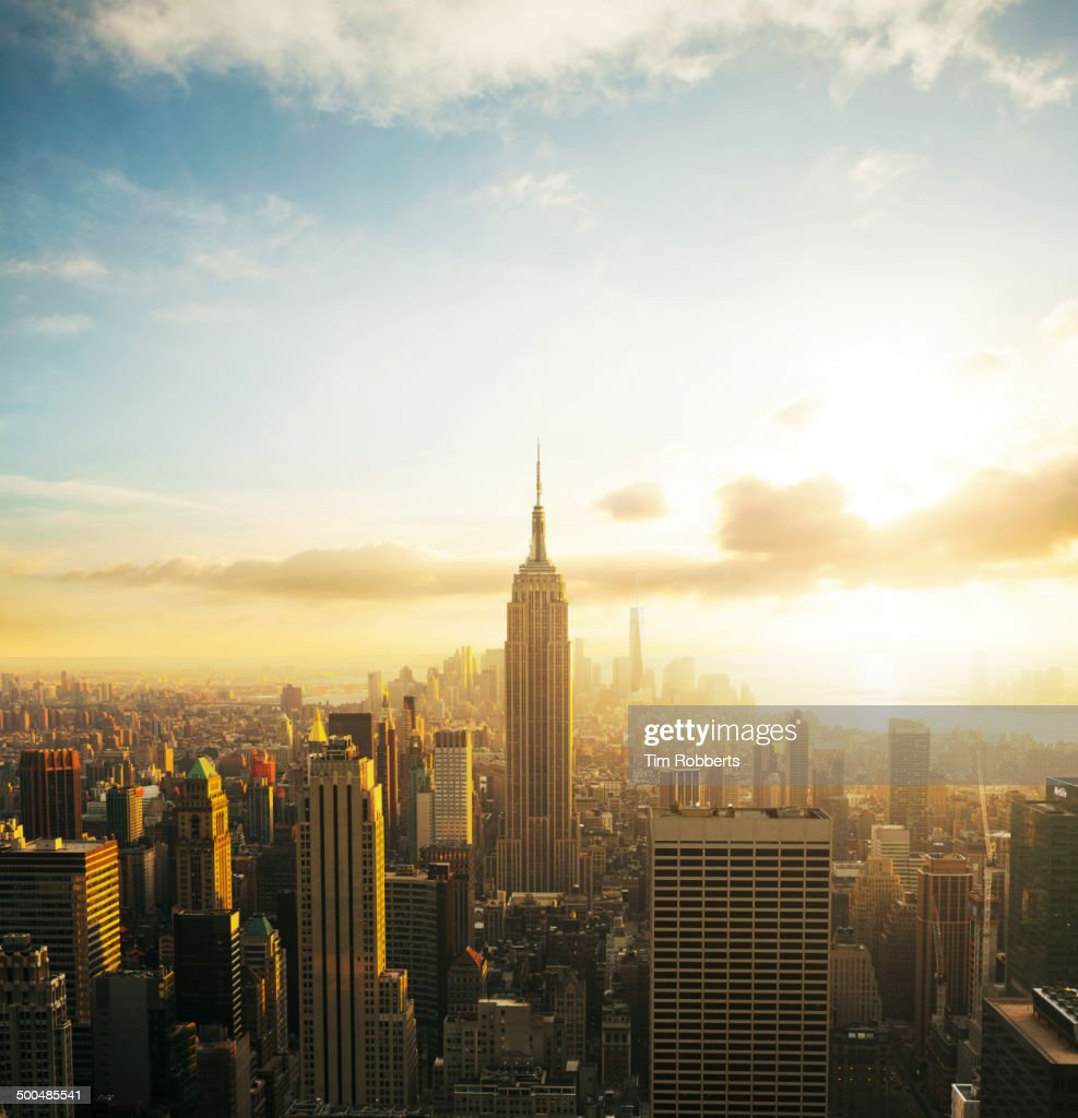 empire state building sunset - photo #20