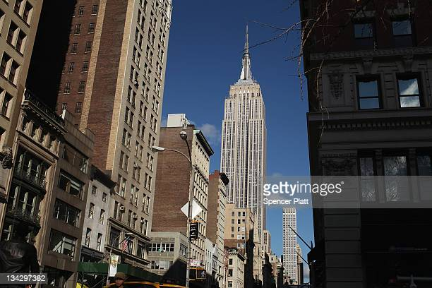 The Empire State Building one of the world's most iconic buildings is viewed on November 30 2011 in New York City Malkin Holdings LLC the familyowned...
