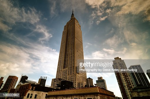 The Empire State Building : ストックフォト