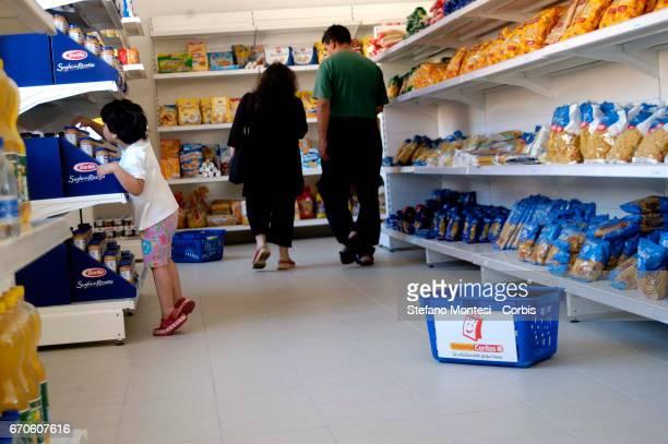 The emporium of Solidarity of the diocesan Caritas of Rome to Casilino Bridge a supermarket for families in need The Emporium a supermarket with the...