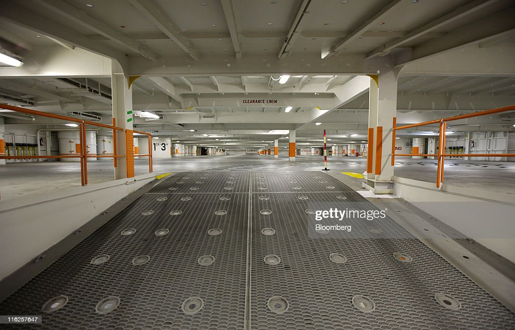 The empty hold of the Nippon Yusen K.K.'s car transporter ship, Auriga Leader, is seen at Mitsubishi Heavy Industries Ltd.'s Honmoku plant in Yokohama city, Kanagawa prefecture, Japan, on Wednesday, June 15, 2011. Nippon Yusen K.K. is Japan's largest shipping line. Photographer: Tomohiro Ohsumi/Bloomberg via Getty Images