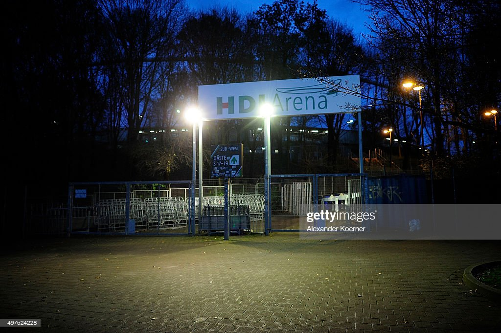 http://media.gettyimages.com/photos/the-empty-southwest-entrace-of-the-hdiarena-is-pictured-prior-the-picture-id497524228