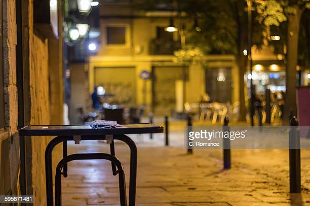 The empty table