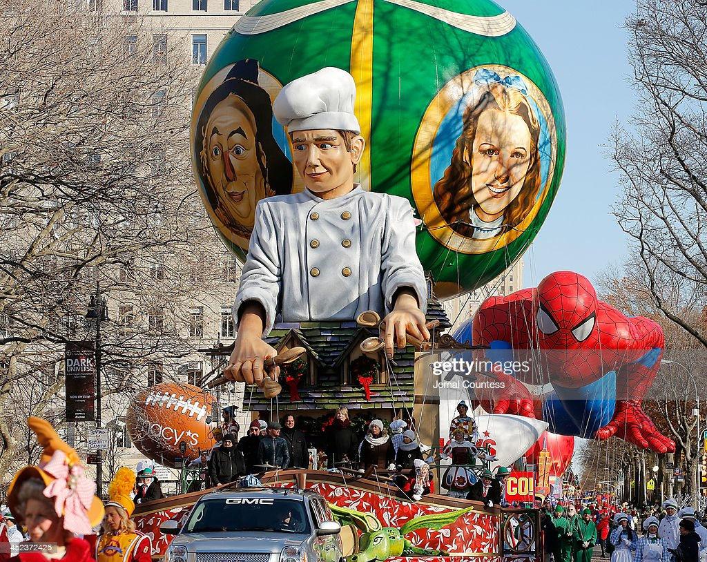 The Enchanting World of Lindt Chocolate Float featuring the Goo Goo Dolls in the 87th Annual Macy's Thanksgiving Day Parade on November 28 2013 in...