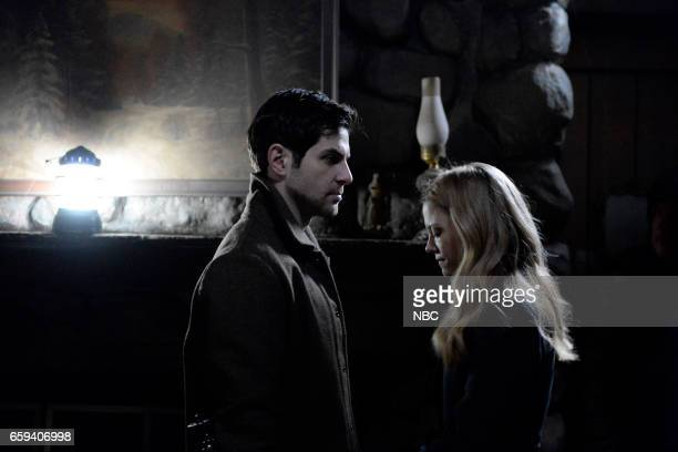 GRIMM 'The End' Episode 613 Pictured David Giuntoli as Nick Burkhardt Claire Coffee as Adalind Schade
