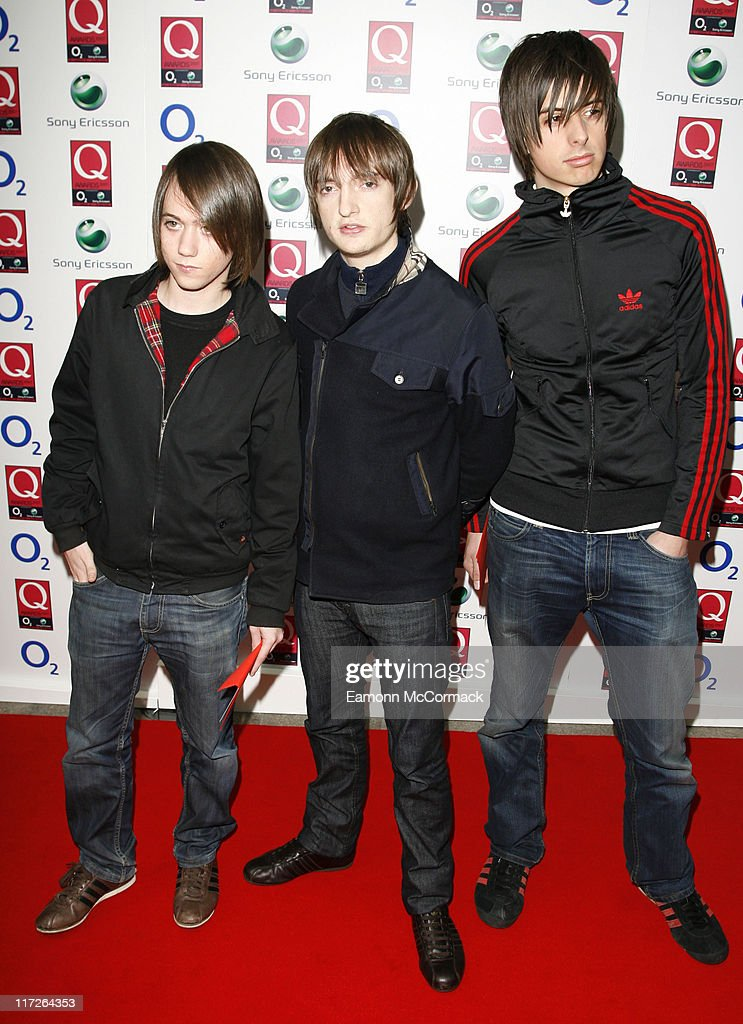 The Enemy attends the Q Awards on October 08 2007 in London England