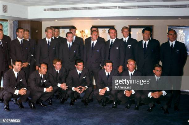 Jack Charlton George Cohen Gerry Byrne Roger Hunt Ron Flowers Geoff Hurst Norman Hunter Nobby Stiles Martin Peters Ray Wilson Gordon Banks Ron...