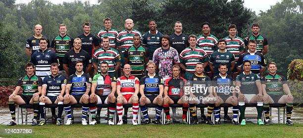 The England squad for the 2011 IRB Rugby World Cup of Joe Simpson of London Wasps Chris Ashton of Northampton Saints Richard Wigglesworth of Saracens...