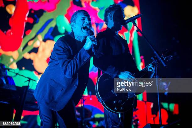 The english electronic band Depeche Mode performing live at Pala Alpitour Italy in Turin Italy on 9 December 2017