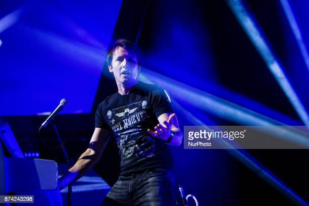 The english singer and songwriter James Blunt performing live at Mediolanum Forum Assago in Milan Italy on 14 November 2017
