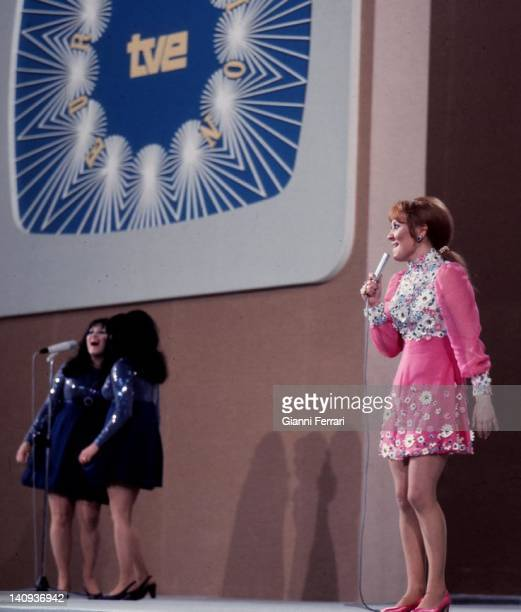 The English singer Lulu winner in the Eurovision Song Contest 29th March 1969 Madrid Spain