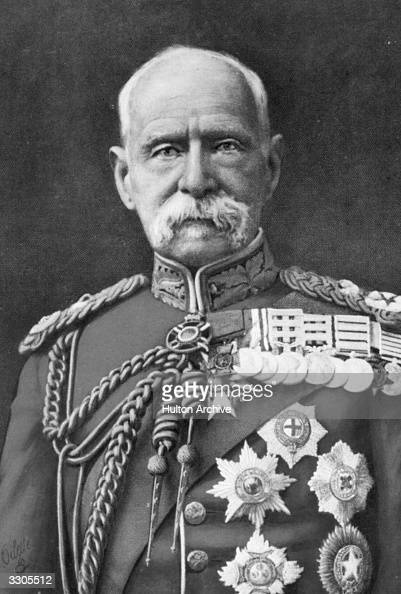The English soldier Frederick Sleigh Roberts who was created Lord Roberts of Kandahar and Waterford in 1892 and earl in 1901 Made a field marshal in...
