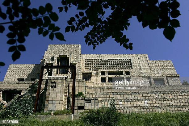 The EnnisBrown House designed by architect Frank Lloyd Wright in 1924 is seen March 7 2005 in Los Angeles California The historic 10000 square foot...