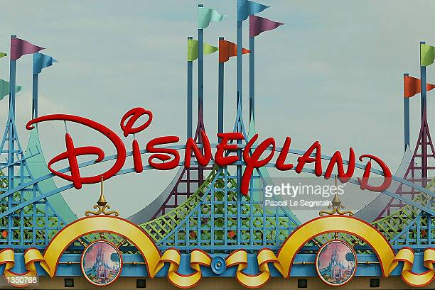 The entrance of Disneyland Paris is shown August 22 2002 in Marne la Vallee France After a rocky start ten years ago Disneyland Paris formerly known...