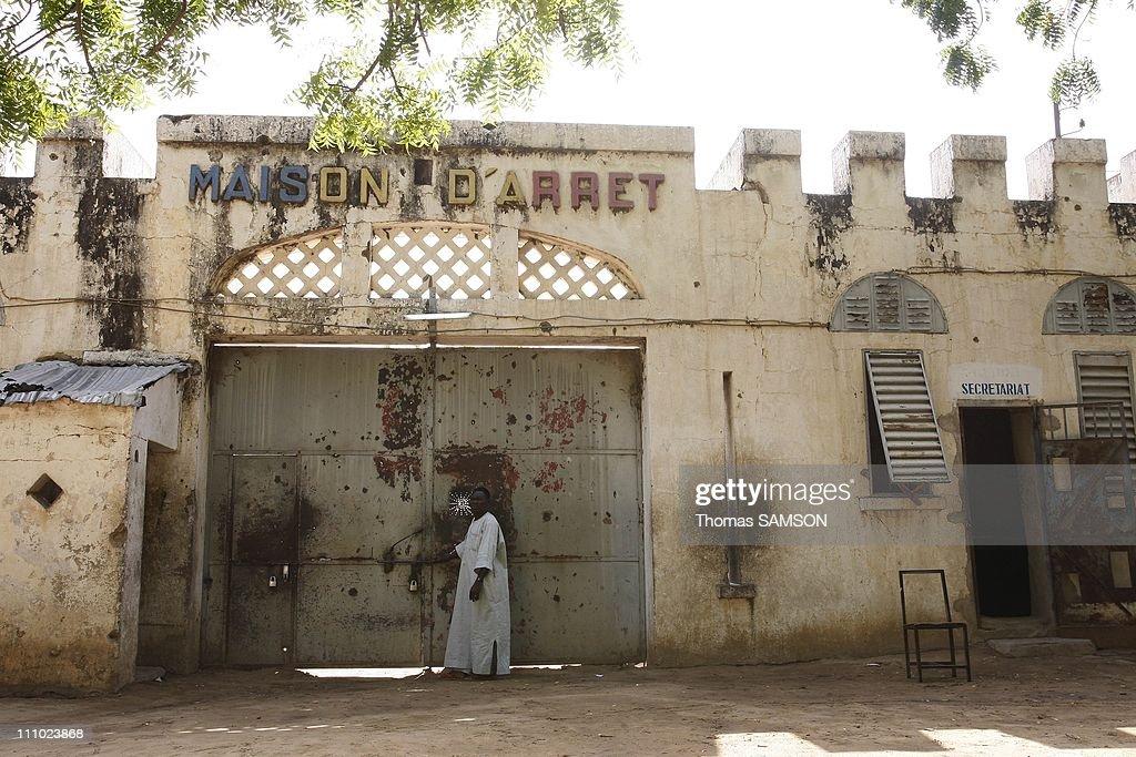 The entrance of the jail main block in N'Djamena Chad on November 13rd 2007