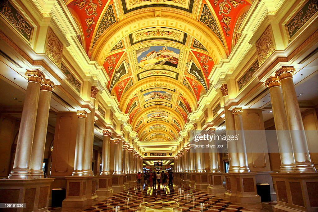 The entrance of Venetian : Stock Photo