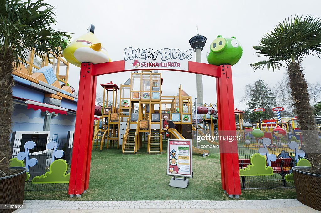The entrance to Angry Birds Land, an Angry Birds-themed activity center within the Sarkanniemi adventure park, is seen near Tampere, Finland, on Friday, May 4, 2012. Rovio Entertainment Oy reported FY sales of EU75.4m. Photographer: Juho Kuva/Bloomberg via Getty Images