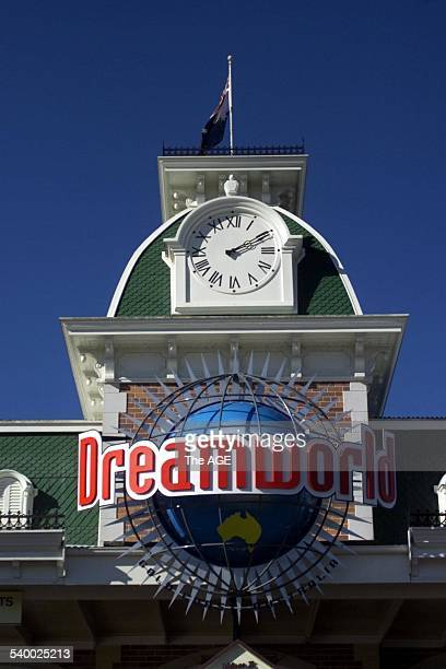 The entrance to Dreamworld on the Gold Coast 7 August 2002 The AGE Picture by HEATH MISSEN