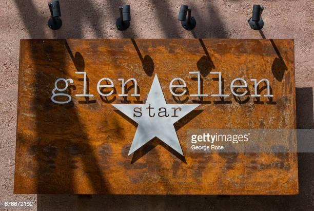 The entrance to Glen Ellen Star restaurant is viewed on April 23 in Glen Ellen California After record winter rainfall battered the North Coast...