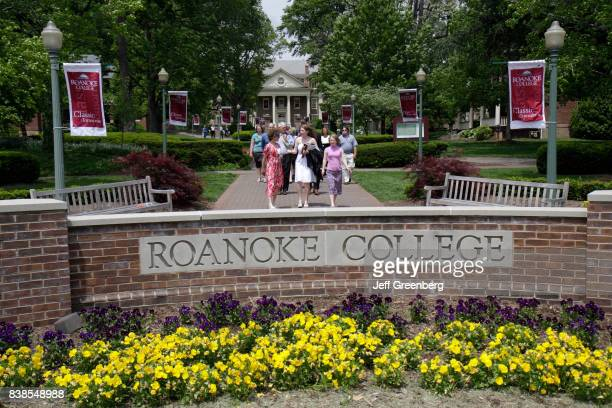 The entrance to Roanoke College