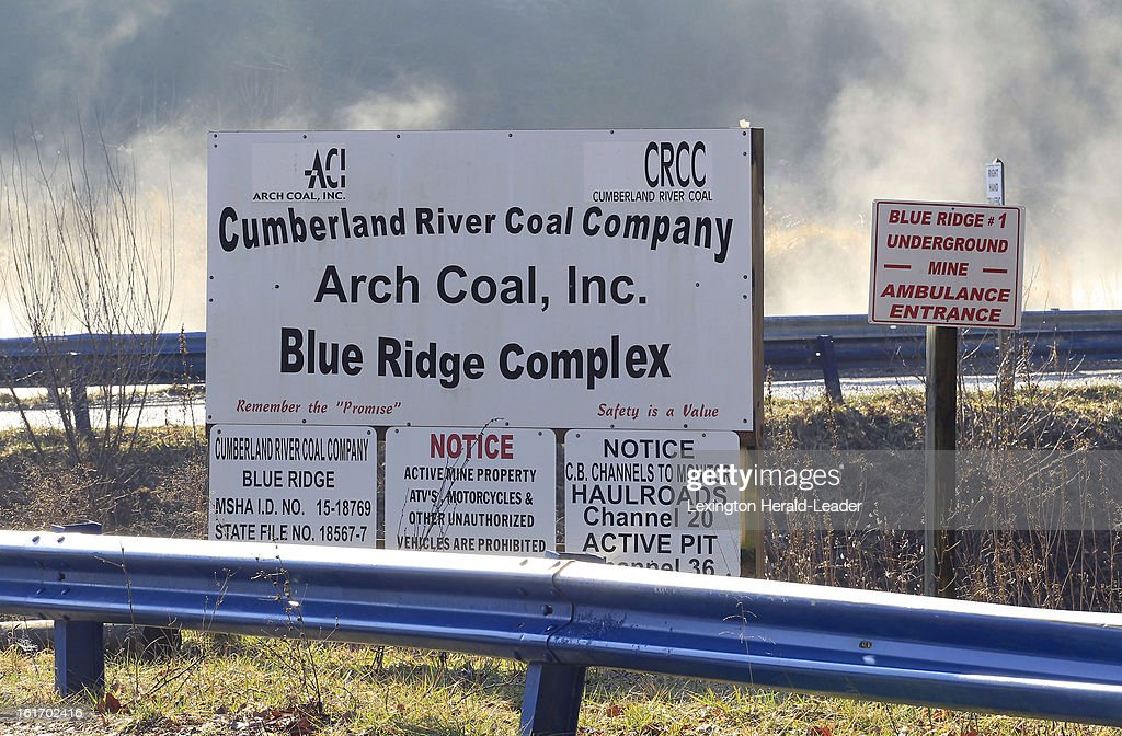 The entrance to the Cumberland River Coal Co Blue Ridge Complex mine where Frank Dixon used to work in Letcher County, Kentucky, Thursday, February 14, 2013. While Dixon and thousands of others in the United States have lost their jobs, coal is booming in the rest of the world.