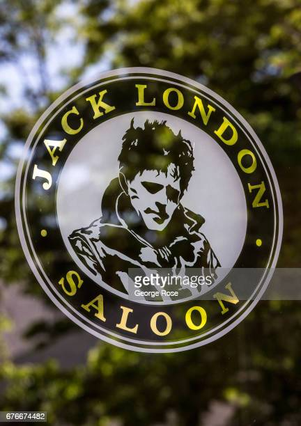 The entrance to the Jack London Saloon is viewed on April 23 in Glen Ellen California After record winter rainfall battered the North Coast...