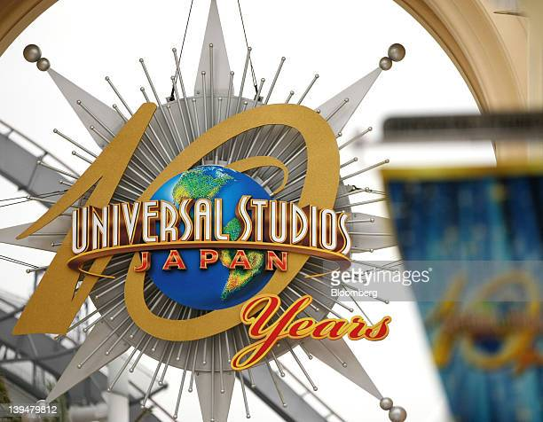 The entrance to the Universal Studios Japan theme park is seen in Osaka Japan on Wednesday Feb 22 2012 The Kansai region including Osaka is an area...