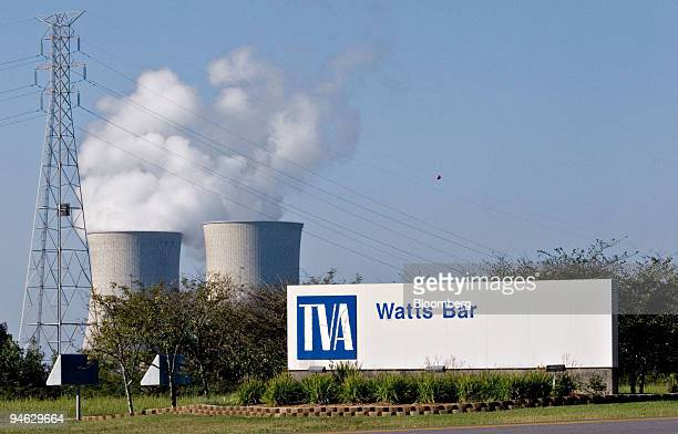 The entrance to Watts Bar Nuclear Plant in Watts Bar Tennessee US on Wednesday Sept 12 2007