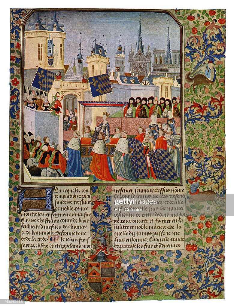39 the entry of queen isabella into paris 39 c1385 isabella for Isabella paris