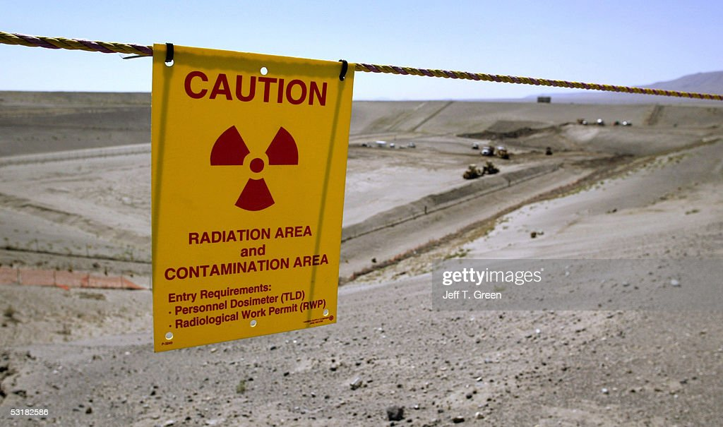 The Environmental Restoration Disposal Facility is seen at the Hanford Nuclear Reservation June 30 2005 near Richland Washington The landfill is used...