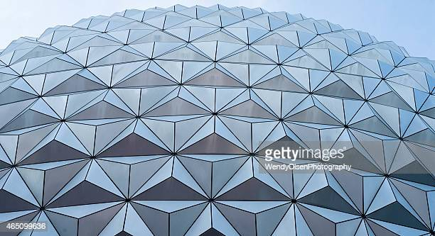 The Epcot spherical dome