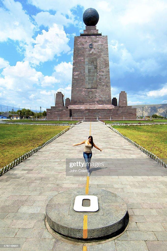 The Equator, Quito, Ecuador
