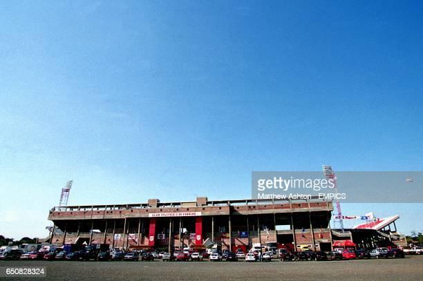 The Estadio 3 de Fevereiro in Cuidad Del Este Paraguay
