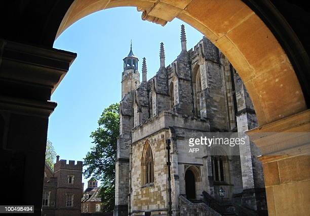 The Eton College Chapel is pictured at Eton school west of London on May 24 2010 Britain's new Prime Minister David Cameron has revived a...