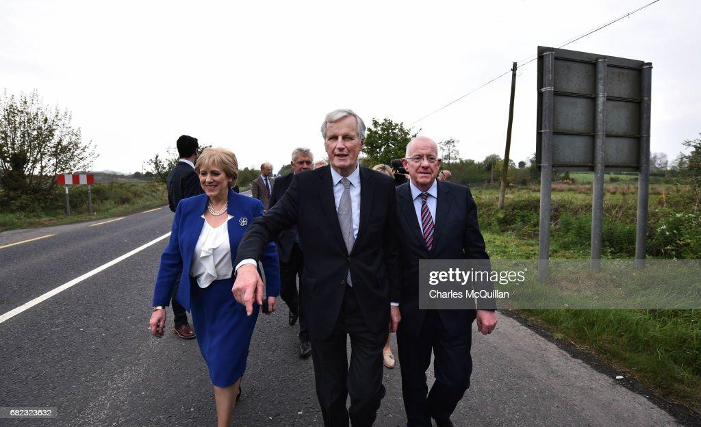 EU Brexit Negotiator Visits The Border Between Northern Ireland And Ireland
