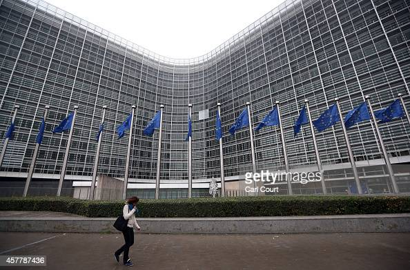 The European Commission building is pictured on October 24 2014 in Brussels Belgium Alongside criticism from outgoing European Commission president...